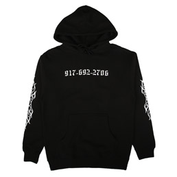 Call Me 917 Chopper Pullover Hood Black
