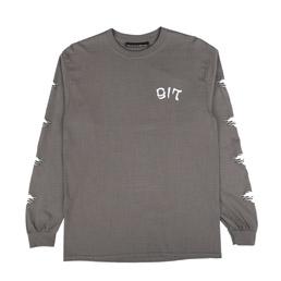 Call Me 917 Max Palmer L/S T-Shirt Charcoal
