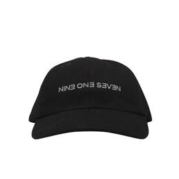 Call Me 917 Backwards Hat Black