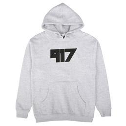Call Me 917 Jody Pullover Hood Grey