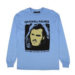 Call Me 917 Maxwell Palmer L/S T-Shirt Blue
