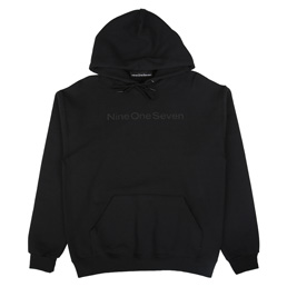 Call Me 917 Logotype Pullover Hood Black