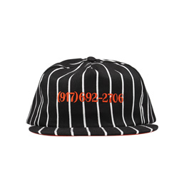 Call Me 917 Dialtone Stripe Hat
