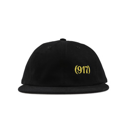 Call Me 917 Area Code Hat Black