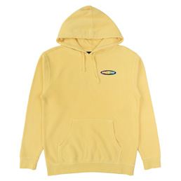 Call Me 917 Racer Pullover Hood Washed Yellow