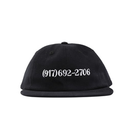 Call Me 917 Dialtone Hat Black