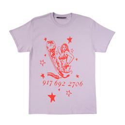 Call me 917 Ecstasy T-Shirt - Lavender