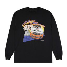 Call me 917 Hugooo! LS T-Shirt - Black