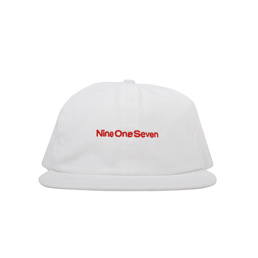 Call Me 917 Nine One Seven Cap White