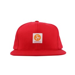 Call Me 917 Workman Snapback Hat Red