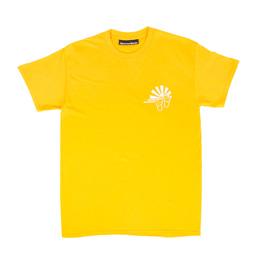 Call Me 917 Walking on Sunshine Tee - Gold