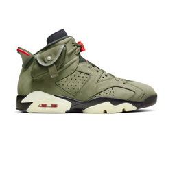 Air Jordan 6 Retro x Travis Scott - Medium Olive