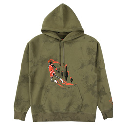 Jordan x Travis Scott PO Hoodie - Medium Olive
