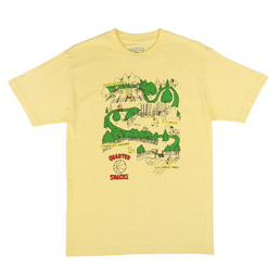 QS Courts T-Shirt Light Yellow