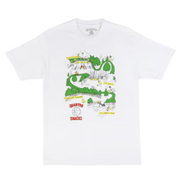 QS Courts T-Shirt White