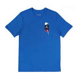 Jordan Legacy AJ4 SS T-Shirt 1 - Military Blue