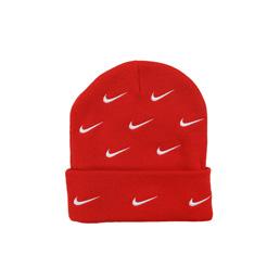 Nike x NRG Cuffed Beanie Swoosh Stripe - Uni Red