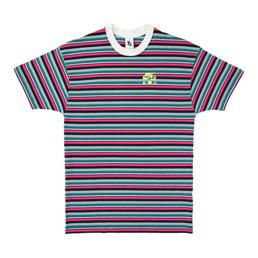 W' Nike x Olivia Kim Stripe T-Shirt-Bright Ceramic