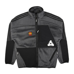 Adidas x Palace Polar Track Top Dark Grey