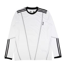 Adidas x Palace Long Sleeve T-Shirt White/ Black