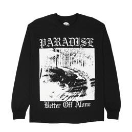 PARADIS3 Better Off Alone LS T-Shirt Black