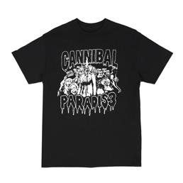 PARADIS3 Cannibal SS T-Shirt Black