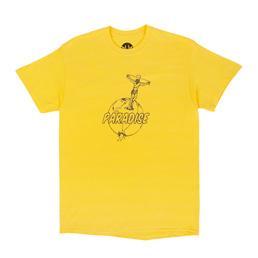 PARADIS3 Crucify The Earth SS T-Shirt Yellow