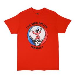 PARADIS3 LSD Worldpeace SS T-Shirt Red