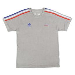 Adidas x Palace T-Shirt Grey/ Red