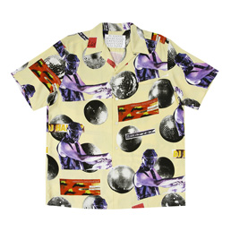 WM DJ Harvey SS Hawaiin Shirt - Yellow