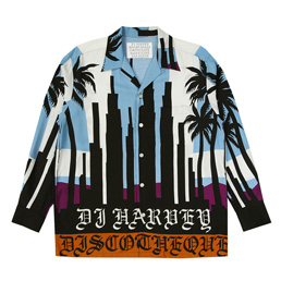 WM DJ Harvey SS Hawaiin Shirt - Blue