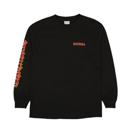 Death Rites Break Out L/S T-Shirt - Black