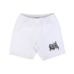 Death Rites BM Bootleg Shorts - White