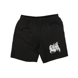 Death Rites BM Bootleg Shorts - Black