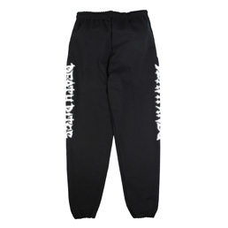 Death Rites Logo Puff Print Sweat Pant - Black