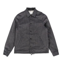 Ganryu Wool Coach Jacket Grey