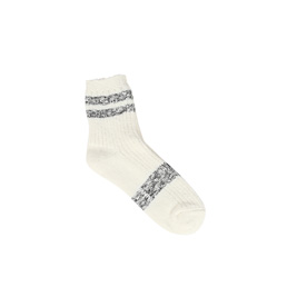 Ganryu Stripe Socks White/ Black