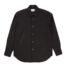 Ganryu Pocket Dress Shirt - Black