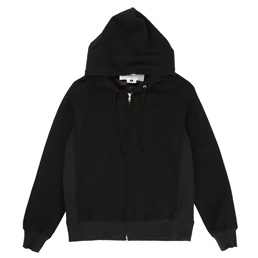 Ganryu Hooded Pile Sweat - Black