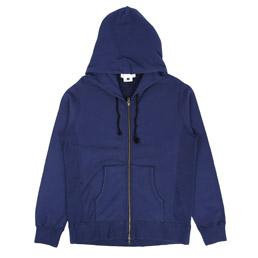 Ganryu Full Zip Hoodie Blue