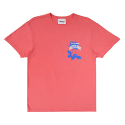 Awake Rose T-Shirt - Coral