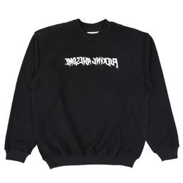 FA Reversible Empty Drip Sweatshirt - Black
