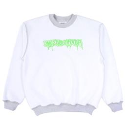 FA Reversible Empty Drip Sweatshirt - Grey Heather