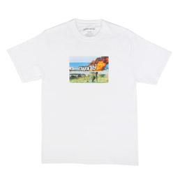 FA Car Burn T-Shirt White