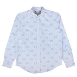 FA Oxford Button Down Shirt Blue