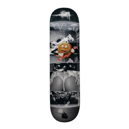 FA AVE Burger Black Deck 8.25""