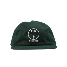 FA Records Hat Green