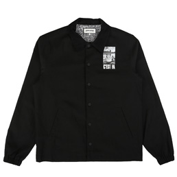 FA C'EST FA Coaches Jacket Black
