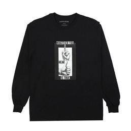 FA Fingers Up L/S T-Shirt Black