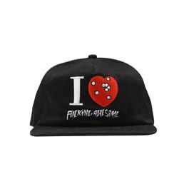 FA I Heart FA Hat Black